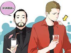 Crowley,Dean Winchester