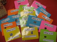 What is it? file folders for Library Centers