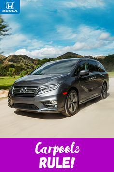 And we're off…to school in the all-new 2018 Honda Odyssey. Coming to a neighborhood and school near you! Click to check out more about the Honda Odyssey.