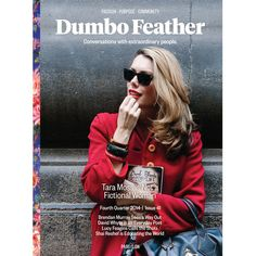 Dumbo Feather is a magazine, a podcast, a website, a community and a conversation about how we can live good lives, inspired by extraordinary people. Magazine Wall, Print Magazine, Magazine Design, Magazine Covers, Tara Moss, Book Club List, Engage In Conversation, Gypsy Living, Extraordinary People