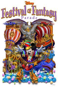 Disney Festival of Fantasy Parade Steps Off Sunday at Magic Kingdom Park