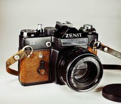 Zenit 11 / Brown Skin / Film SLR/ LightBurn Camera / Helios 44M-4 58mm F2.0 Lens / £38.99