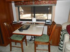 Dinette removed & replaced with this