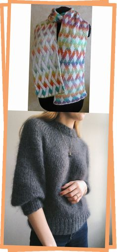 Vernetzt scarf pattern- a beautiful double knit free pattern. In German, but is fully charted. Knitting Charts, Knitting Patterns Free, Free Knitting, Free Pattern, Giant Knit Blanket, Double Knitting, Pullover, Beautiful, Blog