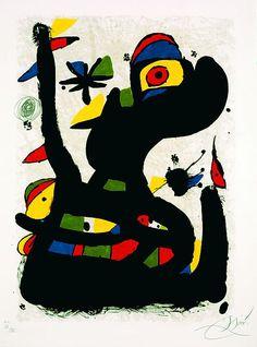 Joan Miró - Cant de la cardina