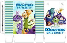 Montando minha festa: Universidade Monstros