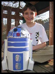 Star Wars Valentine Box | Kids | Pinterest | Valentine Box, Star ...