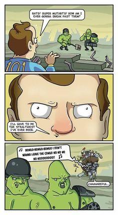 Fallout Sneaking