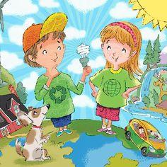 going green & solar energy