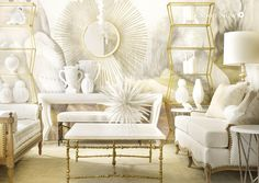 What is there not to like about neutrals ? Beautiful !! olystudio.com