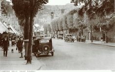 A glorious mid -late scene! what lovely trees lined the hill in those days- v.pity about the miserable specimens that remain today! Such scenes were general in those halcyon days of our town. Old Pictures, Old Photos, Tunbridge Wells, Mount Pleasant, Pavement, Broadway, Street View, England, Wellness
