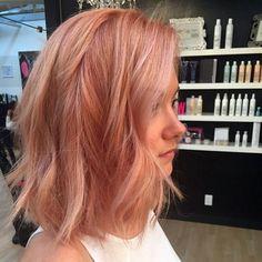 Клубничный блонд - 215 фото волос и выбор краски