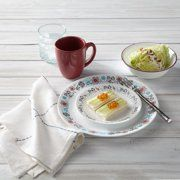 Shop for Corelle Dinnerware Sets. Buy products such as Corelle Signature Amalfi Azul Dinnerware Set at Walmart and save. Dinnerware Sets Walmart, Corelle Dishes, Birthday Display, Serving Bowl Set, Clean Plates, Plates And Bowls, Salad Plates, Teal And Grey, Dish Sets