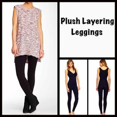 """Black S/M Plush LEGGINGS  NEW WITH TAGS  SIZE: S/M  Laura Ashley Black PLUSH (Fleece) LINED LEGGINGS/Footless Tights * Incredibly comfortable & high quality. Solid black.  * Ideal for layering  * Will not fade or shrink; Machine wash.  * Tagged size S/M will approx. fit 4'10""""- 5'5"""" and 100-135 LBS * Super Soft & Cozy; Stretch-To-Fit Style   Fabric: 95% Polyester & 5% Spandex Color: Jet Black 91200 ✅ Bundle Discounts ✅ No Trades  Note: photo may not reflect listing size Laura Ashley Pants…"""