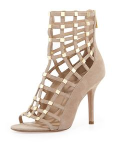 +Cora+Suede+Cage+Sandal+by+Michael+Kors+at+Neiman+Marcus.