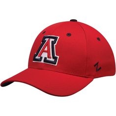 Top of the World Arizona Wildcats Red Dynasty Memory Fit Fitted Hat