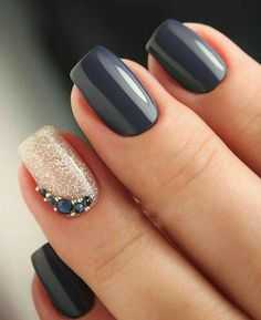Trendy Winter Nail Art Ideas For 2019 These trendy Nails ideas would gain you amazing compliments. Check out our gallery for more ideas these are trendy this year. ideas Trendy Winter Nail Art Ideas For 2019 Nail Manicure, Nail Polish, Manicure Ideas, Hair And Nails, My Nails, Nagellack Trends, Winter Nail Art, Winter Wedding Nails, Nail Wedding