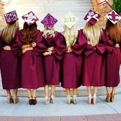 Pin for Later: 30 Adorable Grad Caps For Best Friends Sorority Sisters