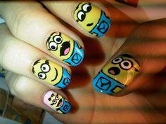 cool+nail+designs | Nail art: Funny nail art