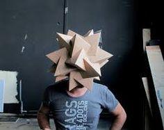 Resultado de imagen para cardboard mask ideas