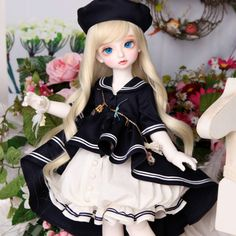 (101.25$)  Watch here - http://ai2o4.worlditems.win/all/product.php?id=32700191418 - New pattern Luts baby Delf Rose bjd sd dolls 1/4 body model reborn girls boys eyes High Quality toys makeup shop resin Free eyes
