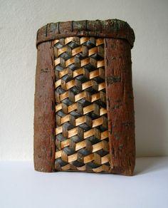 Indsat mad weaving. Dorthe Steffensen. | by dasteffensen