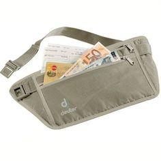 fa98a0a6e Pochete Security Money Belt - Deuter - Arco e flecha Passaporte