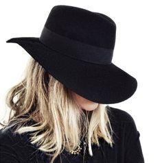 Black fedora hat. www.publicdesire.com