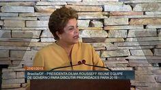 Governo define os rumos a serem tomados no ano de 2015 em reunião minist...
