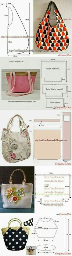 bag sewing pattern