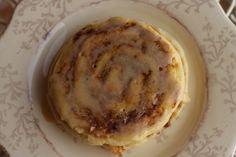 Cinnamon Roll Pancake: Pancake Batter  1 cup all-purpose flour  2 teaspoons baking powder  1/2 teaspoon salt  1 cup milk  1 teaspoon canola oil  1 large egg, lightly beaten    Cinnamon Swirl  1/2 cup butter, melted  3/4 cup brown sugar, packed  1 Tablespoon ground cinnamon