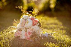 Pretty in pink for a summer wedding at Ten Mile Station #Breckenridge #Florist #Flowers #Wedding  Florals by Petal & Bean Breckenridge, CO