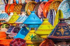 Tajines in the Market, Marrakesh,Morocco jigsaw puzzle
