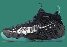c551d4ce227 Nike Air Foamposite Pro Dark Obsidian and Blue Aquamarine For Sale