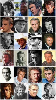 Hollywood Actor, Hollywood Stars, Classic Hollywood, Old Hollywood, Hollywood Actresses, Steeve Mcqueen, Steve Mcqueen Style, Photos Rares, Westerns