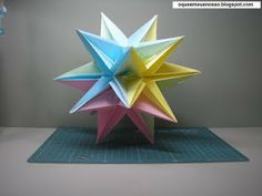 WHAT'S MINE IS OUR: Kusudama Origami - Dinara - Marcia Moura