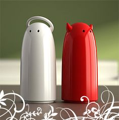 Koziol – Salt & Pepper Shakers
