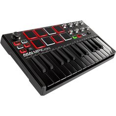 Akai Professional Mpk Mini Mkii Limited Edition Black on Black Arduino, Galaxy Note, Music Production Equipment, Software Download, Home Music, Mac Mini, Hardware Software, Noise Reduction, Windows Phone