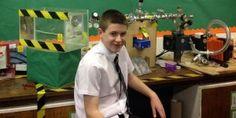 Un niño de 13 años construye un reactor que genera energía solar