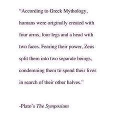 Interesting theory on Soul Mates based on Greek Mythology & Socrates ♊️