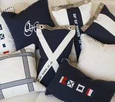 like the bold navy blues and nautical themes!