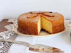 Madeira Cake. A classic English sponge cake, delicately flavored with lemon & almond - perfect for afternoon tea. Dating back to an original recipe in the 18th or 19th century. Named after  Madeira wine, which was popular in England at the time and was often served with the cake. Not to be confused with the traditional cake of Madeira island called Bolo de Mel, a cake made from sugarcane honey (molasses).