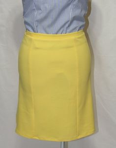 Sunshine double knit skirt by Beauje on Etsy, $50.00