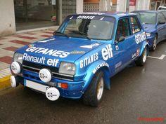 Replica de Renault 5 Alpine Gitanes de 1979.