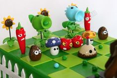Celebrate with Cake!: Plant vs Zombies Cake