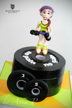 Gym cake idea