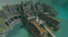 [Deep Academy App] The CorvusGray Castle Minecraft Project Minecraft City Buildings, Minecraft Structures, Minecraft Castle, Minecraft Medieval, Minecraft Architecture, Minecraft Blueprints, Minecraft Designs, Minecraft Creations, Minecraft Crafts