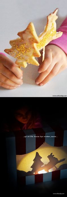 Make Shadow Puppet Cookies | willowday