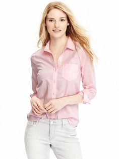 Women's Classic Oxford Shirt Product Image