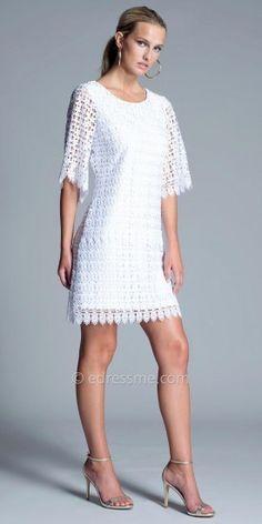 Julian Chang Beena Lace Short Dress